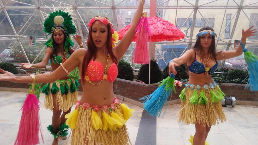 hawaiimuziek danseressen