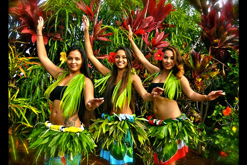 hawaii danseressen