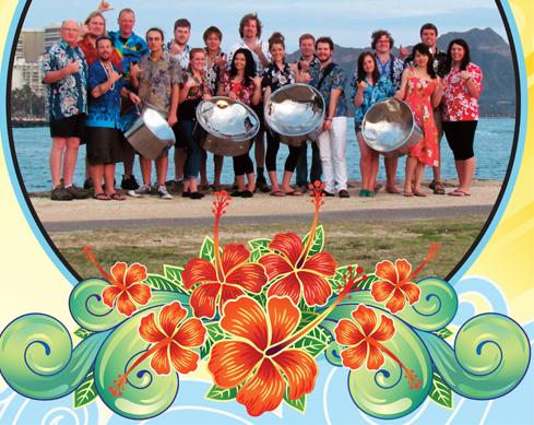 steeldrums hawaii muziek